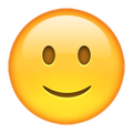 Smiley face emoji