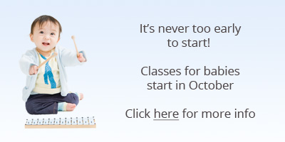 It's never too late to start! Classes for babies start in October. Click here for more info.